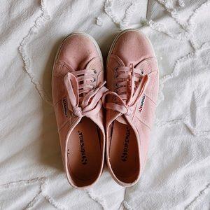 Superga Shoes - 2790 acotw pink platform supergas